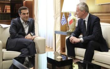 Λε Μερ: Προσπάθειες για λύση στο ελληνικό χρέος στο Eurogroup