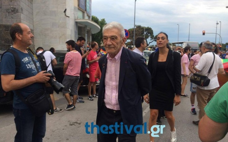 Στην κεφαλή του Thessaloniki Pride ο Γιάννης Μπουτάρης