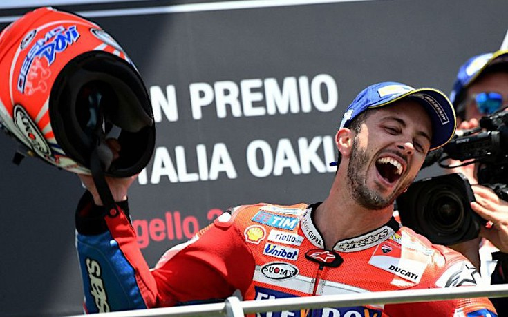 Ο Andrea Dovizioso μιλά για την πανάξια 3η νίκη του στα MotoGP