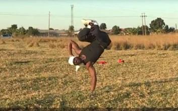 Ο καλύτερος χορευτής breakdance στη Ζιμπάμπουε είναι παράλυτος