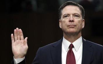 Κόμεϊ για κυβέρνηση Τραμπ: Με δυσφήμησε και είπε ψέματα για το FBI