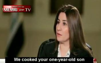 «Τζιχαντιστές έδωσαν σε γυναίκα να φάει τον ενός έτους γιο της»