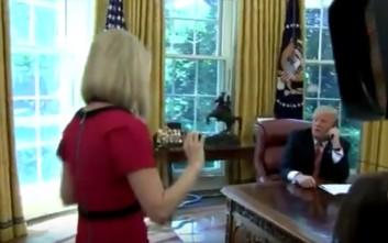 Ο Τραμπ διέκοψε επικοινωνία με τον Ιρλανδό πρωθυπουργό για να φλερτάρειδημοσιογράφο