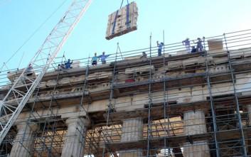 Nέα φάση εργασιών στα μνημεία της Ακρόπολης