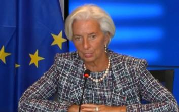 Λαγκάρντ: Προτείνω επί της αρχής συμμετοχή του ΔΝΤ στο πρόγραμμα