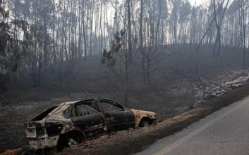 Το καταστροφικό πέρασμα της πυρκαγιάς που σκότωσε 62 ανθρώπους