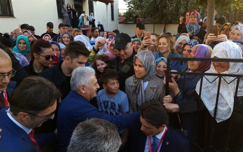 Σε τζαμί της Κομοτηνής ο τούρκος πρωθυπουργός Γιλντιρίμ