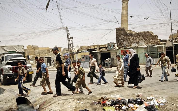 Τον έλεγχο χωριού στη Μοσούλη ανέκτησαν οι ιρακινές δυνάμεις