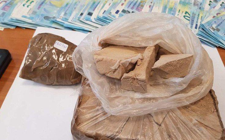 Μετέφεραν μισό κιλό ηρωίνης για τις «πιάτσες» της Κρήτης
