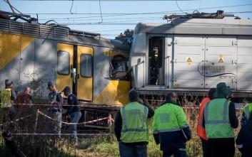 Ένας νεκρός από σύγκρουση δύο τρένων κοντά στο Γιοχάνεσμπουργκ