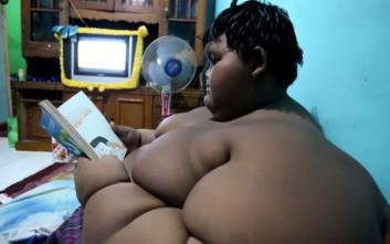 Το παχύτερο αγόρι στον κόσμο κατάφερε να χάσει 30 κιλά