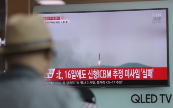 Η Βόρεια Κορέα εκτόξευσε πυραύλους ο τύπος των οποίων δεν έχουν ταυτοποιηθεί