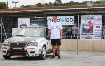 Θωμάς Κρασώνης, ένας πολλά υποσχόμενος οδηγός αγώνων