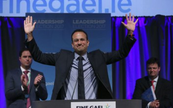 Ο Λίο Βαράντκαρ είναι ο νέος πρωθυπουργός της Ιρλανδίας