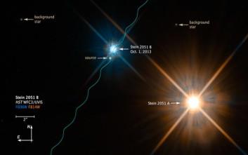 Οι επιστήμονες «ζύγισαν» ένα άστρο με τη βοήθεια της βαρύτητας