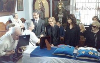 Η Κρήτη αποχαιρετά τον Κωνσταντίνο Μητσοτάκη