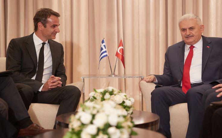 Ελληνοτουρκικές σχέσεις και Κυπριακό στη συνάντηση Μητσοτάκη – Γιλντιρίμ