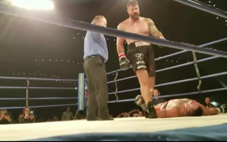 Βίντεο με θανατηφόρο νοκ άουτ σε αγώνα πυγμαχίας