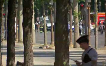 Πιθανόν νεκρός ο οδηγός του οχήματος που έπεσε πάνω στο αστυνομικό βαν