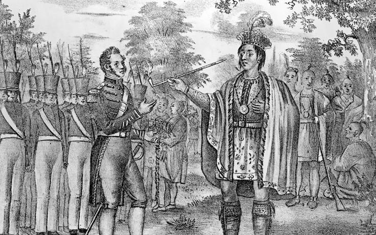 Ο σκληροτράχηλος Ινδιάνος που θέλησε να διώξει τους Άγγλους από τα ιερά εδάφη του