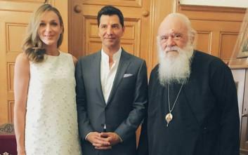 Ρουβάς και Ζυγούλη πήραν την ευλογία του Αρχιεπισκόπου Ιερώνυμου