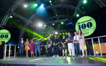 Restaurant 100 Awards Ceremony, και οι 100 είναι υπέροχοι