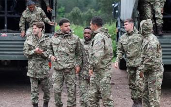Στρατιωτική εκπαίδευση για την εθνική Αγγλίας