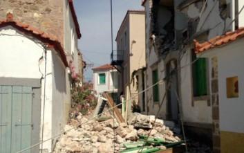 Εκκενώθηκε το χωριό Βρισά στη Λέσβο
