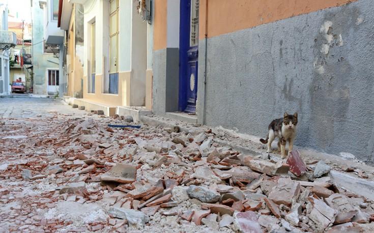 Μέτρα στήριξης για τους σεισμόπληκτους της Λέσβου