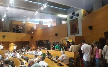 Ένταση και διακοπή στο δημοτικό συμβούλιο Θεσσαλονίκης
