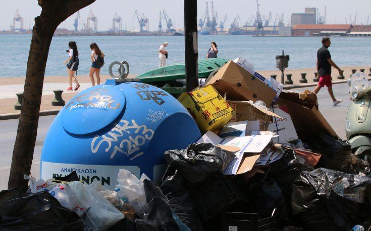 Σήμερα ο διαγωνισμός για ανάθεση της αποκομιδής σκουπιδιών σε ιδιώτη στη Θεσσαλονίκη