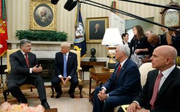 Διαβεβαιώσεις στήριξης έλαβε στον Λευκό Οίκο ο ουκρανός πρόεδρος