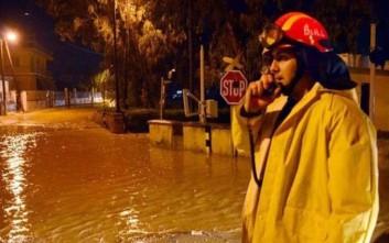 Η καταιγίδα στοίχισε τη ζωή σε έναν άνδρα στη Λαμία