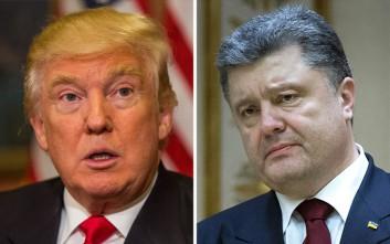 Πρώτη συνάντηση Τραμπ με τον πρόεδρο της Ουκρανίας