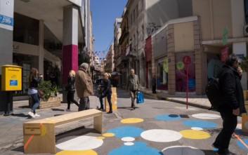 Αναβάλλονται οι τέσσερις νέες πεζοδρομήσεις στο εμπορικό τρίγωνο της Αθήνας