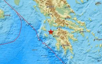 Νέα σεισμική δόνηση μεταξύ Κυλλήνης και Κεφαλονιάς