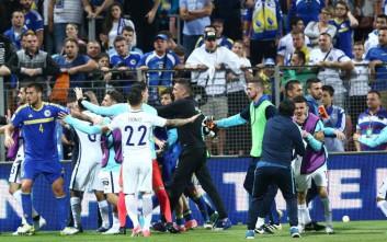 Απολύθηκε ο βοηθός προπονητή της Βοσνίας που χτύπησε τον Γιαννιώτα