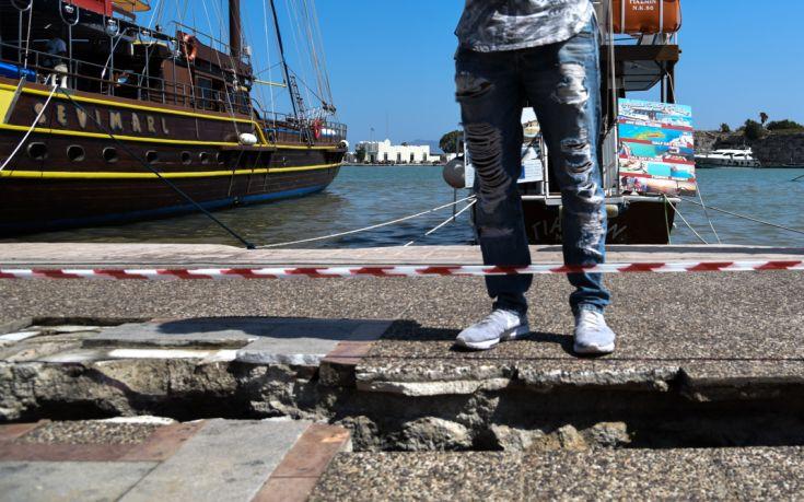 Με εθνικούς πόρους η αποκατάσταση των ζημιών στο λιμάνι της Κω