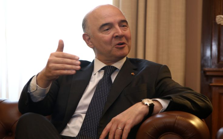 Επικροτεί ο Μοσκοβισί στις προτάσεις Γιούνκερ για την Ε.Ε.
