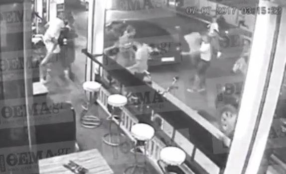 Τα δευτερόλεπτα της δολοφονίας του Αμερικανού τουρίστα στο Λαγανά