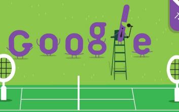 Τουρνουά Γουίμπλεντον, το πιο παλιό πρωτάθλημα στο doodle της Google και οι συμμετοχές των Ελλήνων