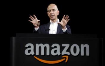 Ο Τζεφ Μπέζος της Amazon στο θρόνο του πιο πλούσιου ανθρώπου στον πλανήτη