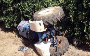 Αποτέλεσμα εικόνας για Κέρκυρα: Τραγικός θάνατος για 72χρονο -Καταπλακώθηκε από το τρακτέρ του