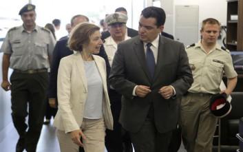 Στην Κύπρο η υπουργός Άμυνας της Γαλλίας
