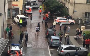 Επίθεση αγνώστου με πέντε τραυματίες στο Σαφχάουζεν της Ελβετίας