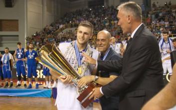 Αφιέρωμα της FIBA στον MVP Χαραλαμπόπουλο