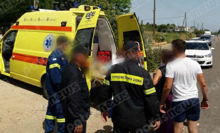 Πέντε τραυματίες σε τροχαίο στον Πύργο