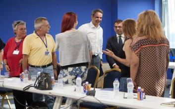Με εκπροσώπους των ΛΟΑΤΚΙ οργανώσεων συναντήθηκε ο Κυριάκος Μητσοτάκης