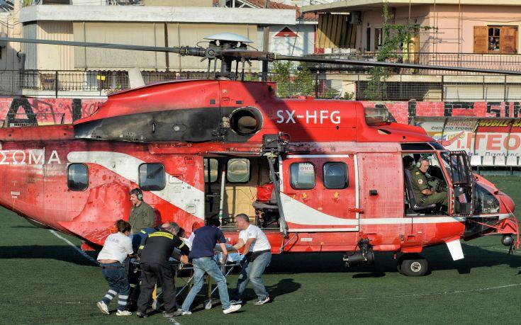 Σε κρίσιμη κατάσταση ο πυροσβέστης που τραυματίστηκε στη φωτιά στο Ζευγολατιό