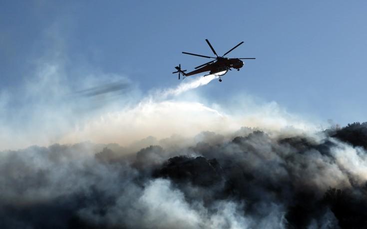 Πυρκαγιά στο Μαζαράκι Αχαΐας